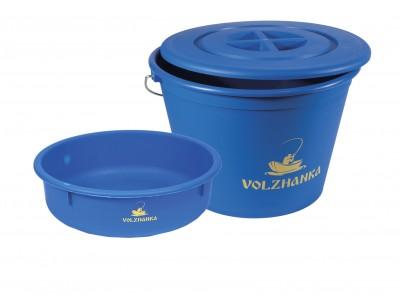 Пластиковые вёдра для прикормки Волжанка.