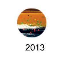 Volzhanka BigMag Shad 75 cиликоновая приманка цвет 2013 (в упак. 6шт)