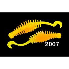 """Силиконовая приманка """"Volzhanka Prodigy 60"""" цвет 2007 (в упак. 10шт) Новинка"""