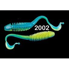 """Силиконовая приманка """"Volzhanka Tailed Worm 130"""" цвет 2002 (в упак. 6шт)"""