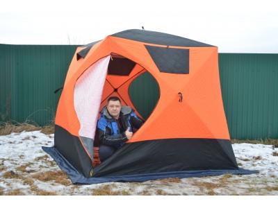 Это что? Зимняя палатка из Китая?